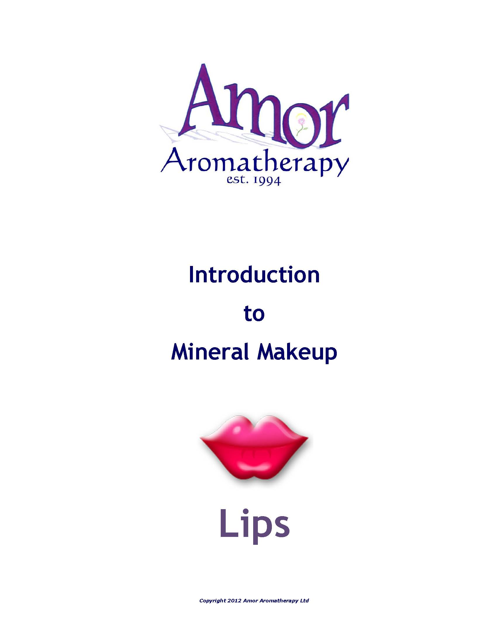 Introduction to Mineral Makeup - Lips