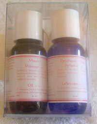 Musk Massage Oil & Lubricant Twin Pack (2 x 50ml)