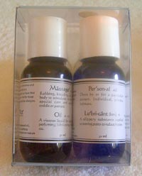 Original Massage Oil & Lubricant Twin Pack (2 x 50ml)