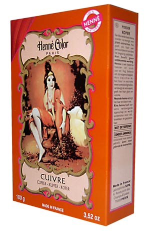 Copper Henna Powder 100g