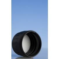 28mm Deep Tampertel Cap, Black