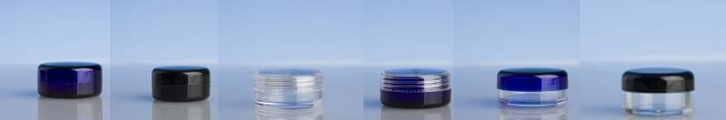 Coloured Cosmetic Pots 10ml