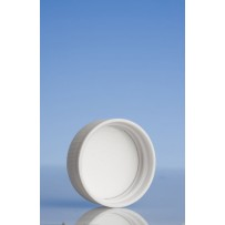 51mm Wadded Cap, White