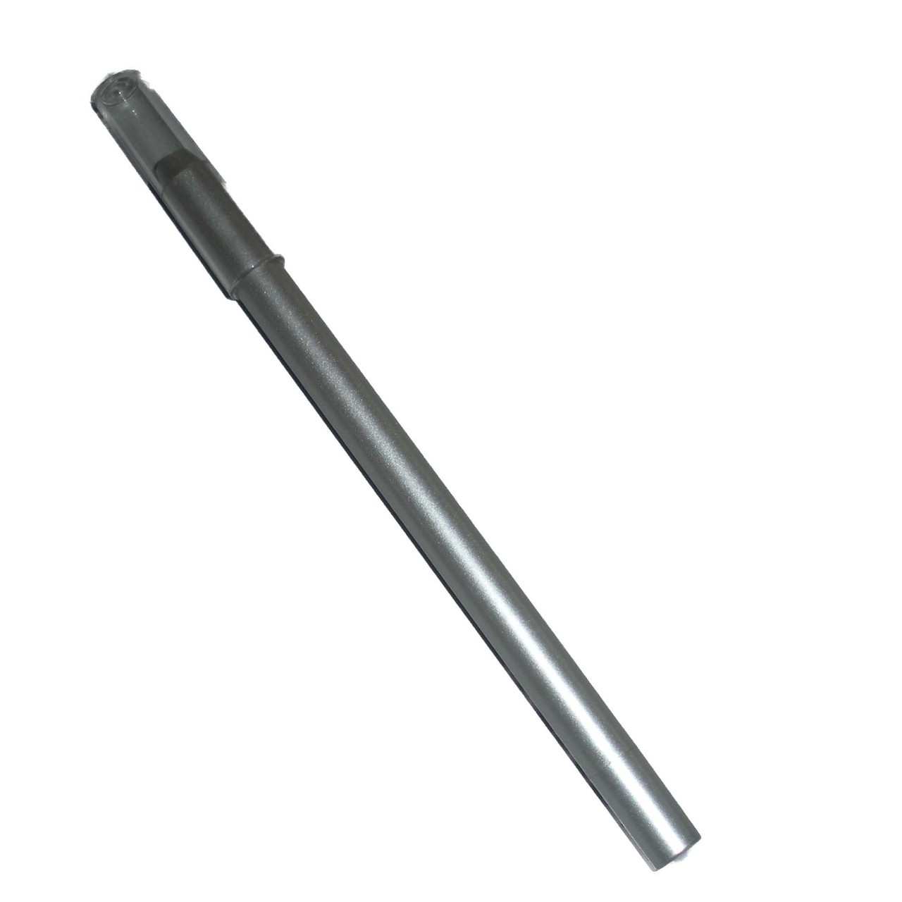 Empty Slim Line Pencil Barrel, Matt Silver