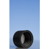 20mm Flat Wadded Cap, Black