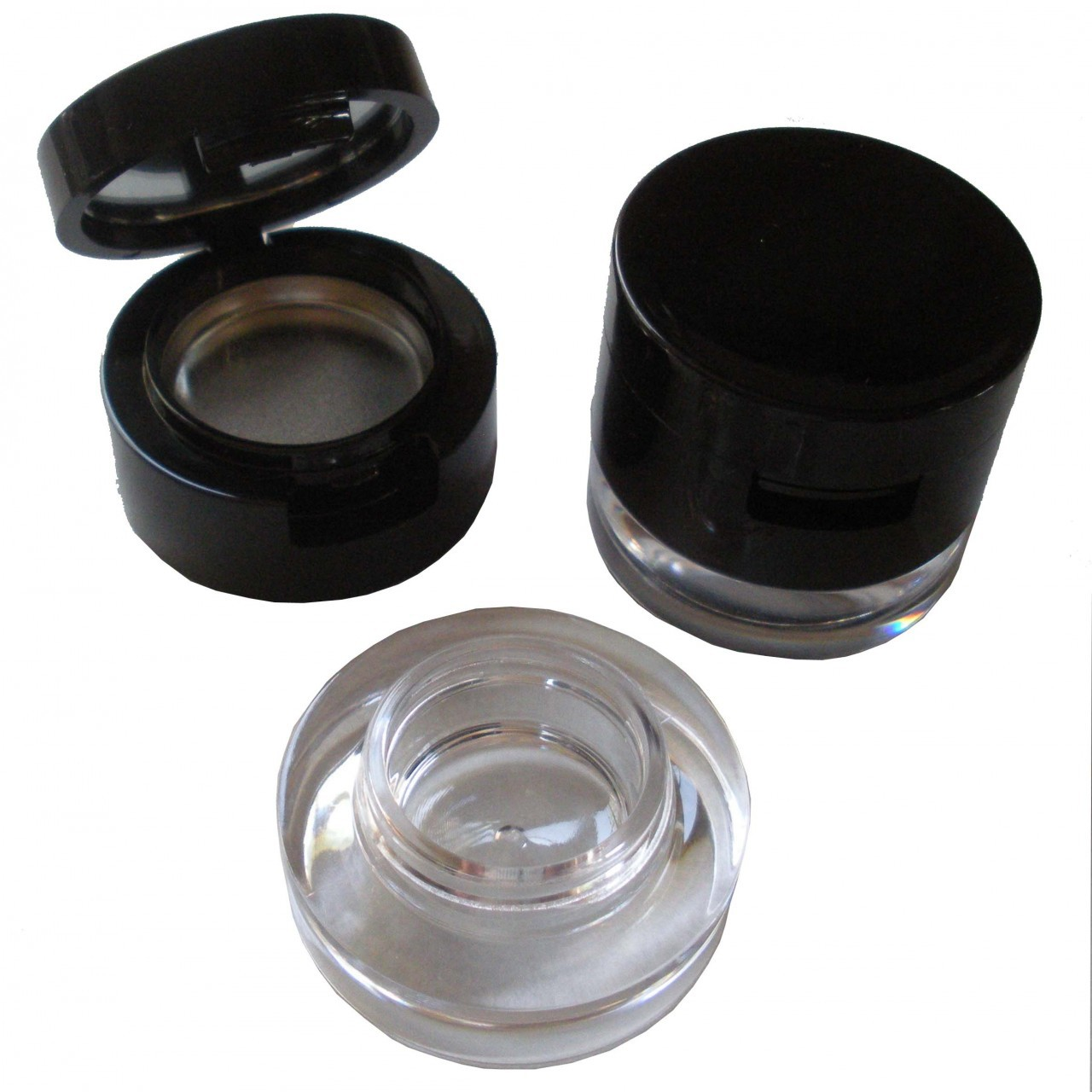 Round Shiny Duo Cavity Jar 26mm