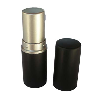 12.7mm Matt Black Lipstick Tube