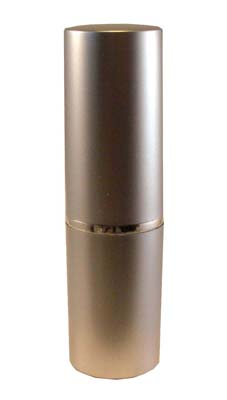 12.7mm Matt Silver Lipstick Tube