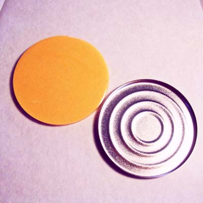 Silicone Pressing Pad for Foundation Compact 59mm
