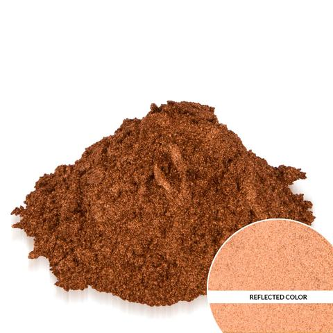 Metallic Cinnamon Copper Mica