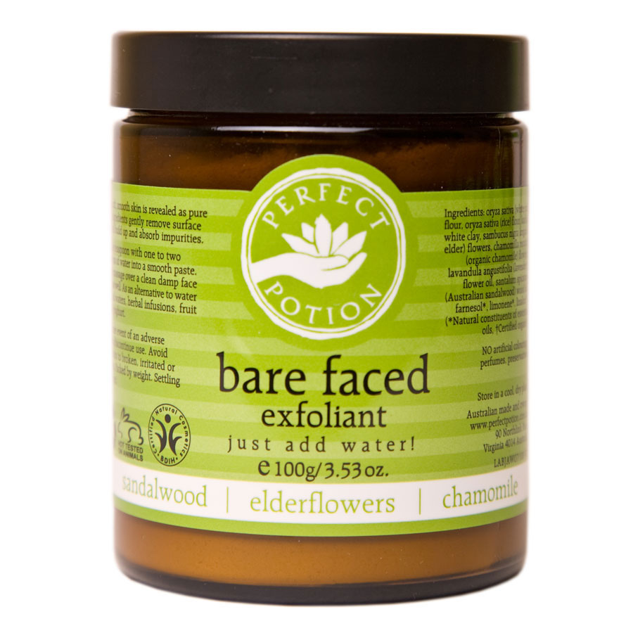 Bare Faced Exfoliant 100gm