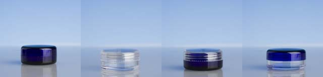 Coloured Cosmetic Pots 20ml